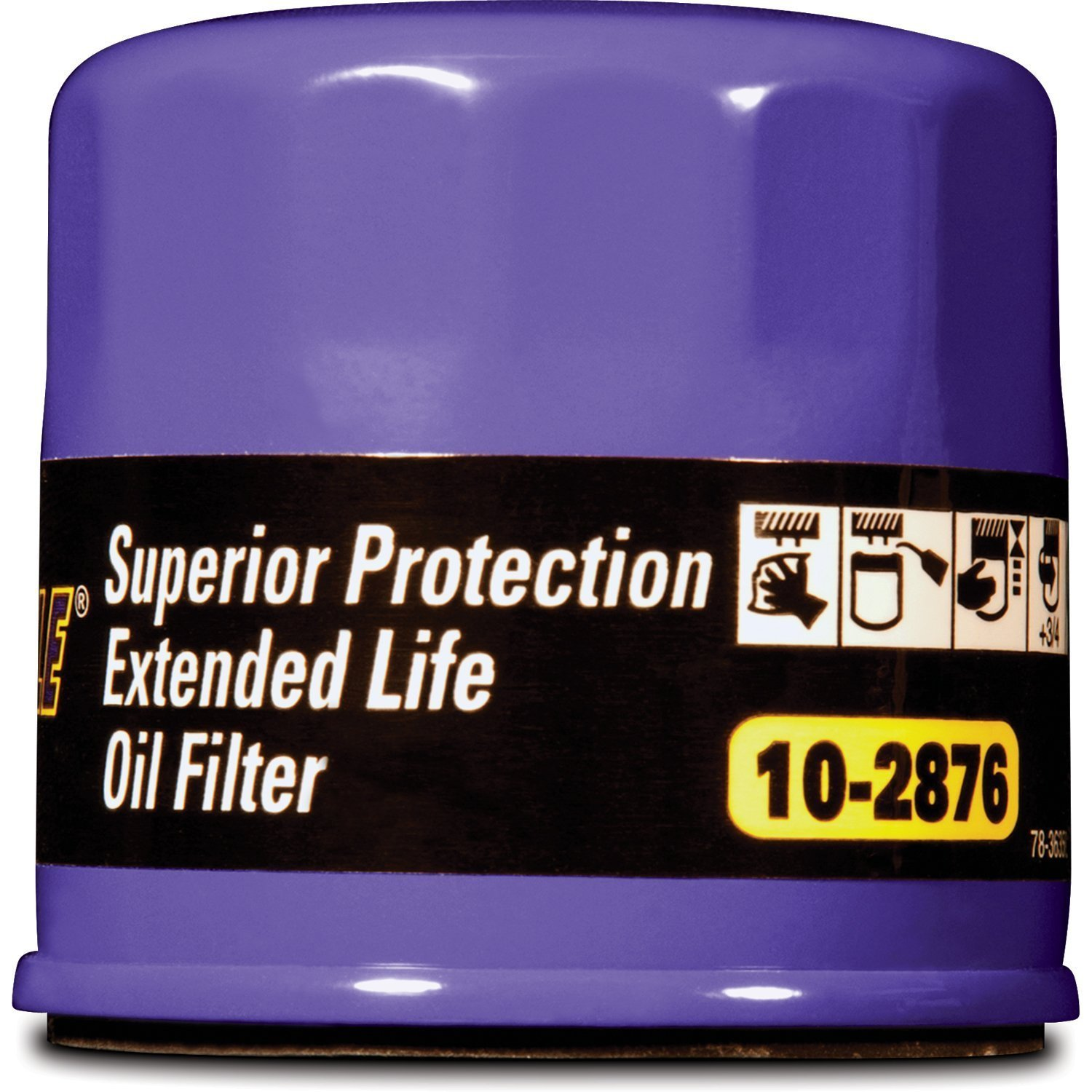 Royal Purple 10-2876-CS Extended Life Oil Filter, (Pack of 6) by Royal Purple