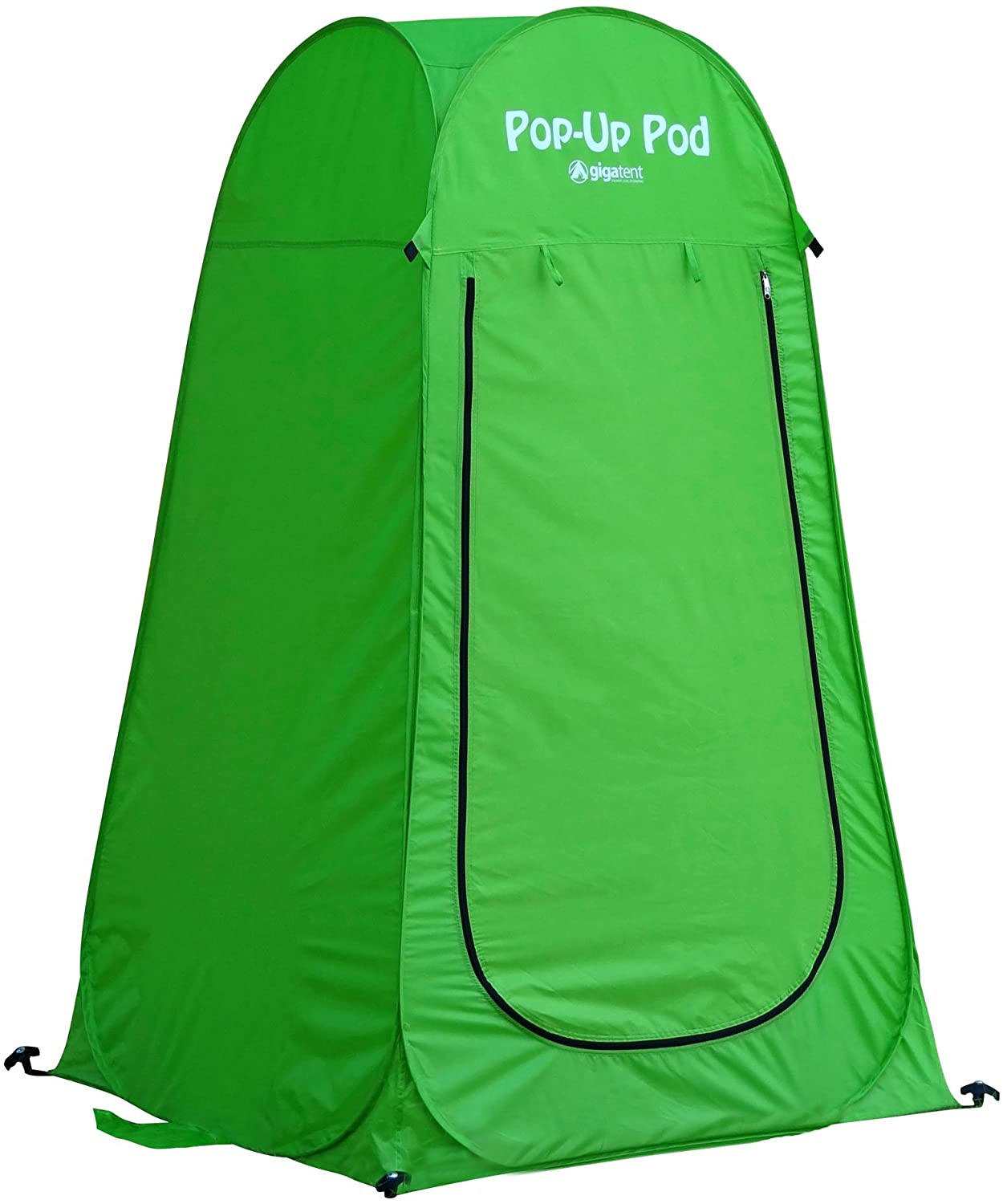 GigaTent Pop Up Pod Changing Room Privacy Tent – Instant Portable Outdoor Shower Tent, Camp Toilet, Rain Shelter for Camping & Beach – Lightweight & Sturdy, Easy Set Up, Foldable - with Carry Bag: Sports & Outdoors
