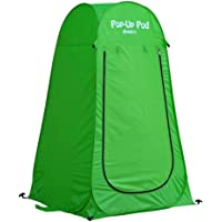 GigaTent Pop Up Pod Changing Room Privacy Tent – Instant Portable Outdoor Shower Tent, Camp Toilet, Rain Shelter for…
