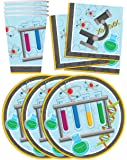 Super Science Birthday Party Supplies Set Plates Napkins Cups Tableware Kit for 16 by Birthday Galore