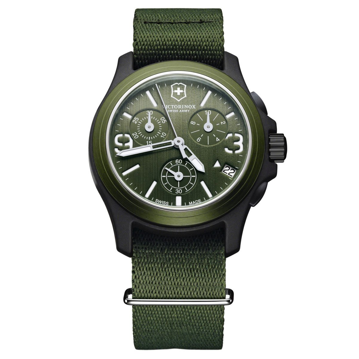 Amazon com: Victorinox Swiss Army Men's 241531 Original Chronograph