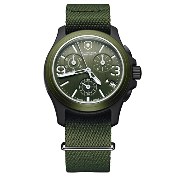 dc266915 Amazon.com: Victorinox Swiss Army Men's 241531 Original Chronograph ...