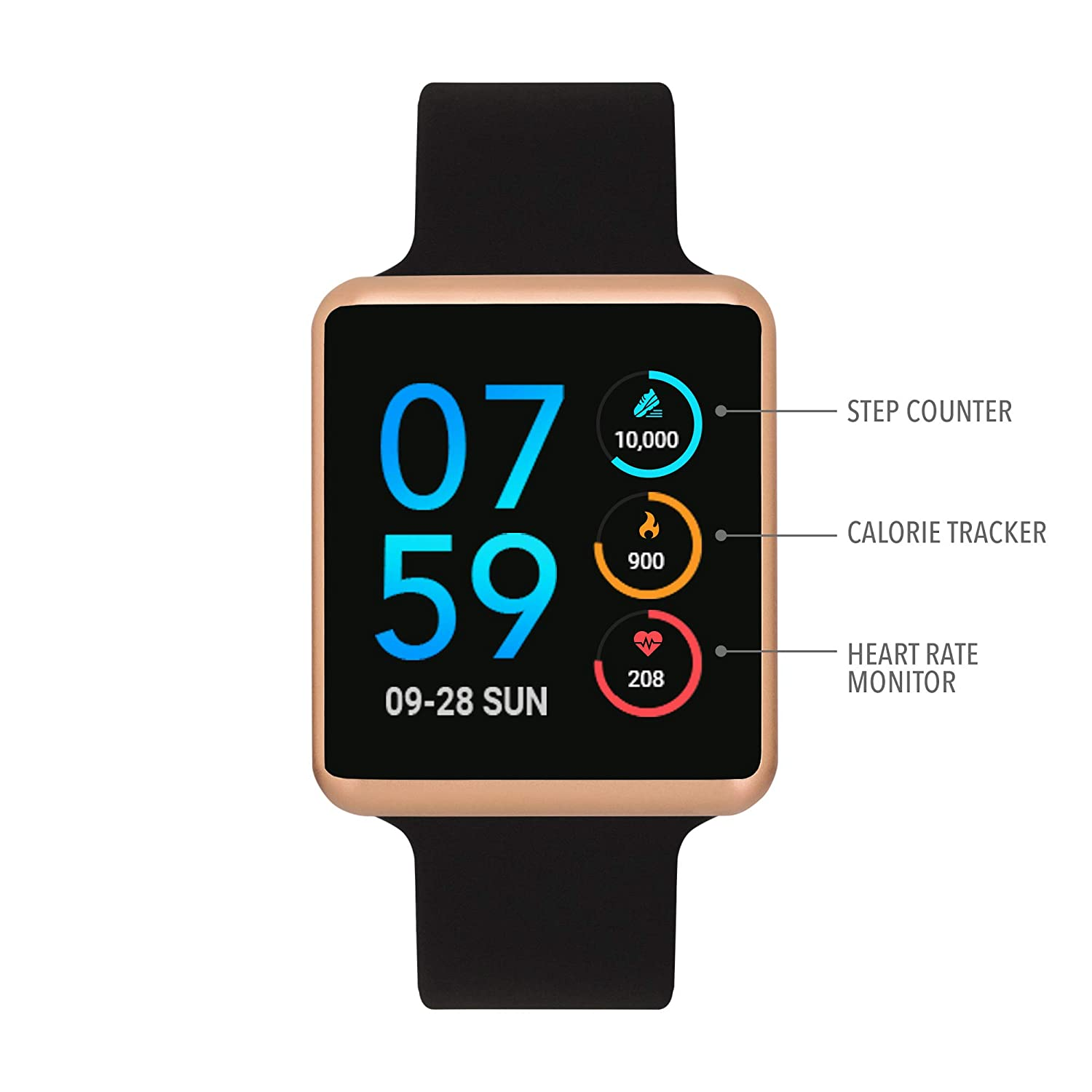 Amazon.com: iTouch Air Special Edition Digital Smartwatch ...