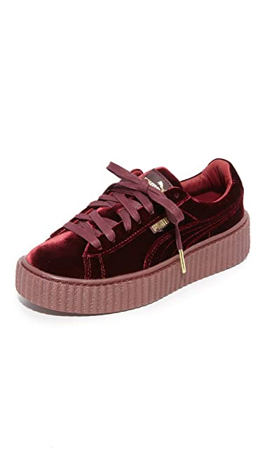 sports shoes f2bf5 8f351 PUMA Women's Creeper Velvet Sneakers