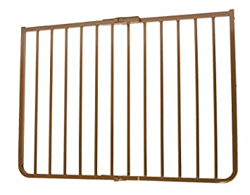 Cardinal Gates Outdoor Child Safety Gate, Brown