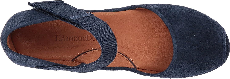 L`Amour Des Pieds 6 Womens Amadour Sandal B07B5W8YW7 6 Pieds B(M) US|Navy 63ecc6