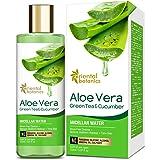 Oriental Botanics Aloe Vera, Green Tea & Cucumber Micellar Water - No Alcohol, Silicone, Sulphate - 150ml