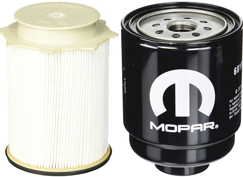 Dodge Ram 6.7 Liter Diesel Fuel Filter Water Separator Set Mopar OEM by Mopar