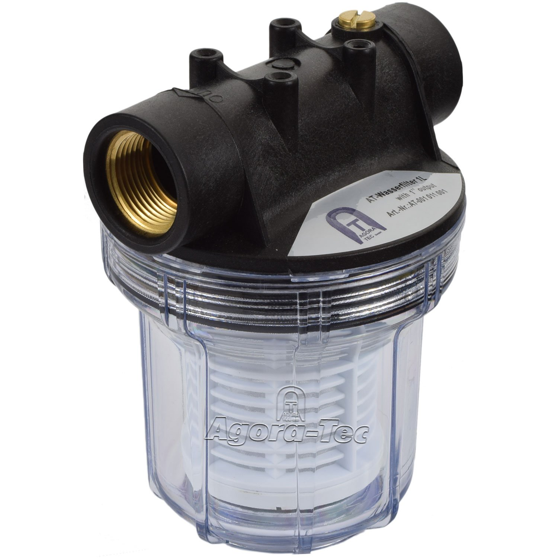 Turbo Agora-Tec® AT-Wasserfilter 1L, mit Max. Betriebsdruck: 4 bar, Max  US94