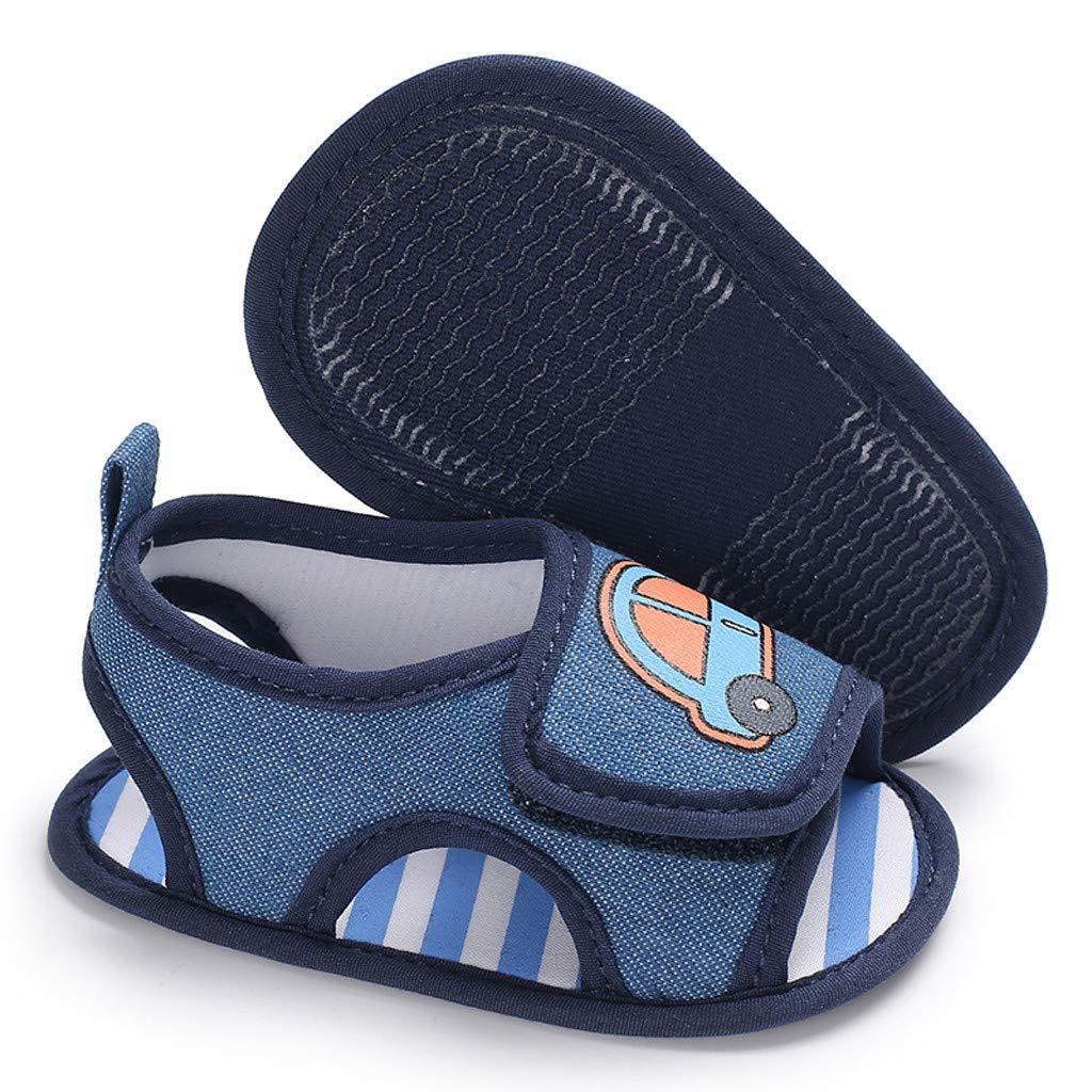 Chaussures Premiers Pas Cuir Souple Toddler B/éb/é Walking Shoes Sandales Fille/Bebe Chaussures Enfant Garcon Voiture de Dessin anim/é