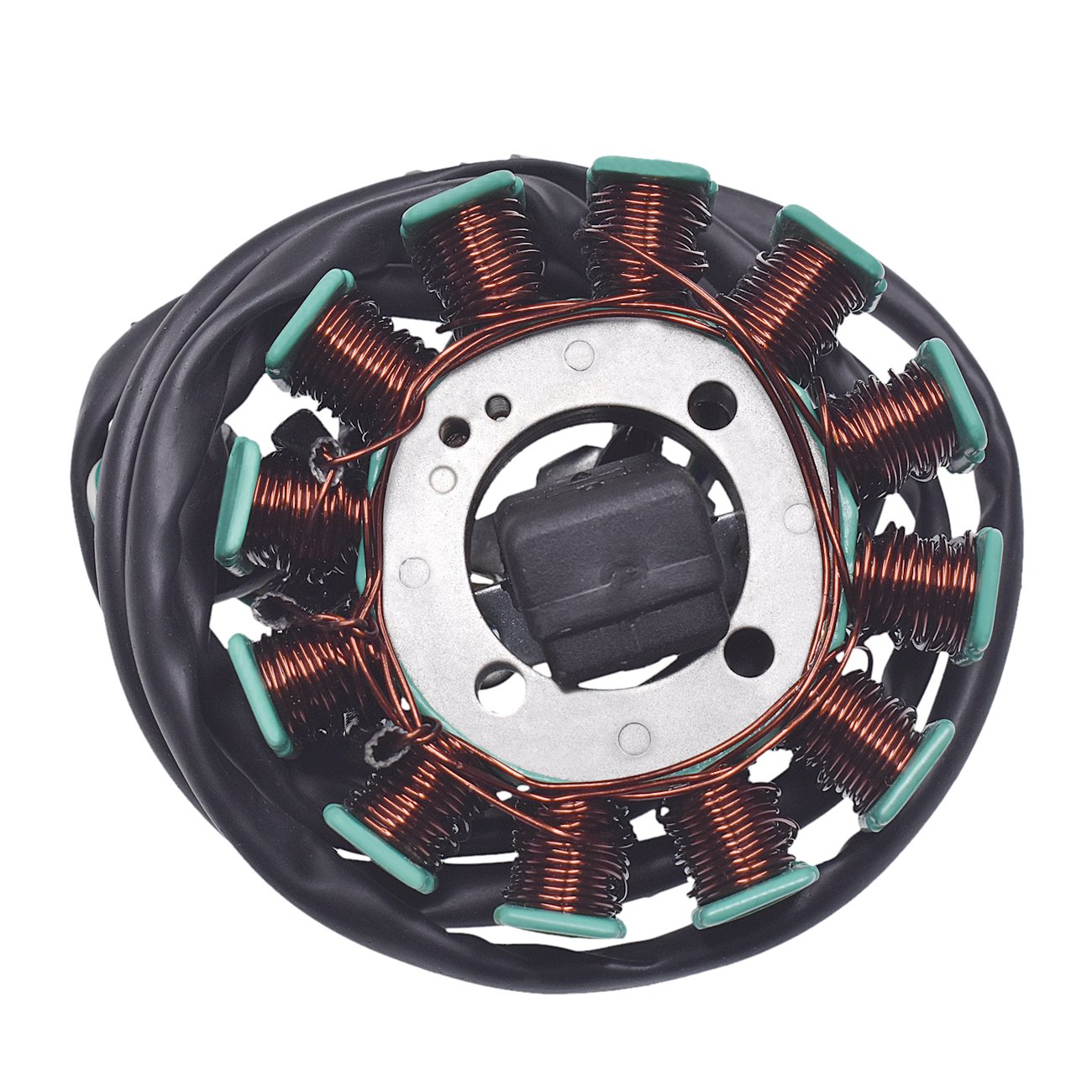 JRL 12V Copper 4 Poles Magneto Stator Coil For Motorcycle Lighting CG125