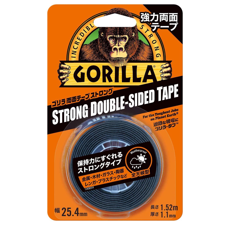 Gorilla Glue ゴリラ強力両面テープ ストロング