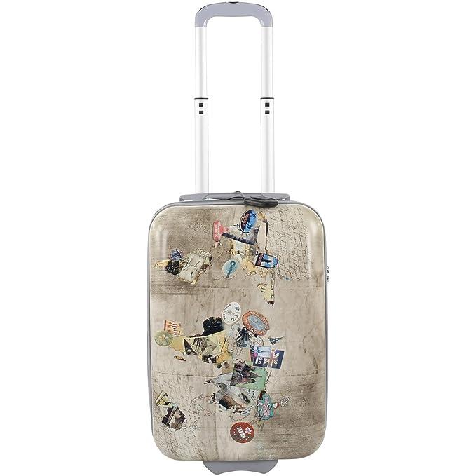 TROLLEY CABINA RYANAIR MANO 55 CM 2 RUEDAS TSA HOTEL - Misto: Amazon.es: Ropa y accesorios
