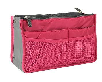 Bolso de mano//Organizador para usos diversos FUCSIA lenceria, viajes, objetos varios