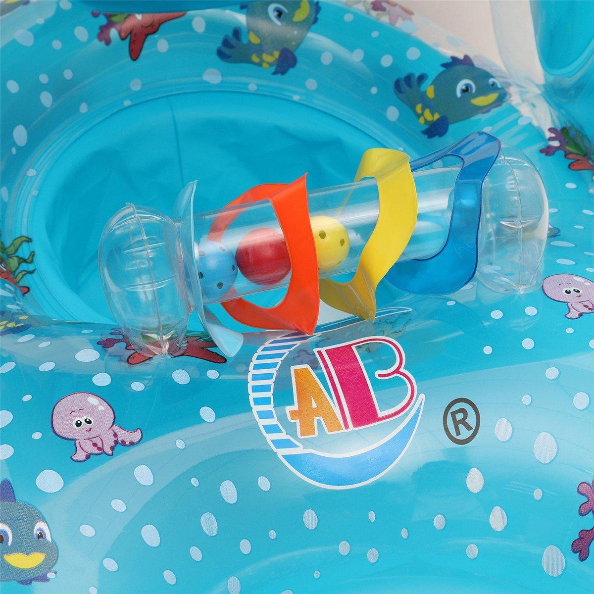 JCT Bou/ée gonflable pour maman et b/éb/é avec pare-soleil.