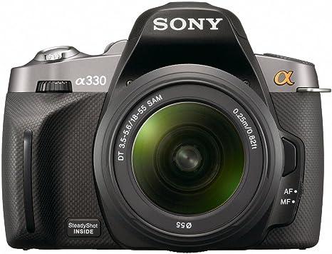 Sony α DSLR-A330 + DT 18-55mm Juego de cámara SLR 10.2MP CCD 3872 ...