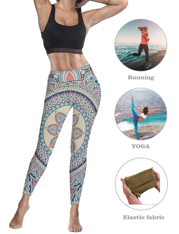 Amazon.com: Leggings personalizados para mujer, cintura alta ...
