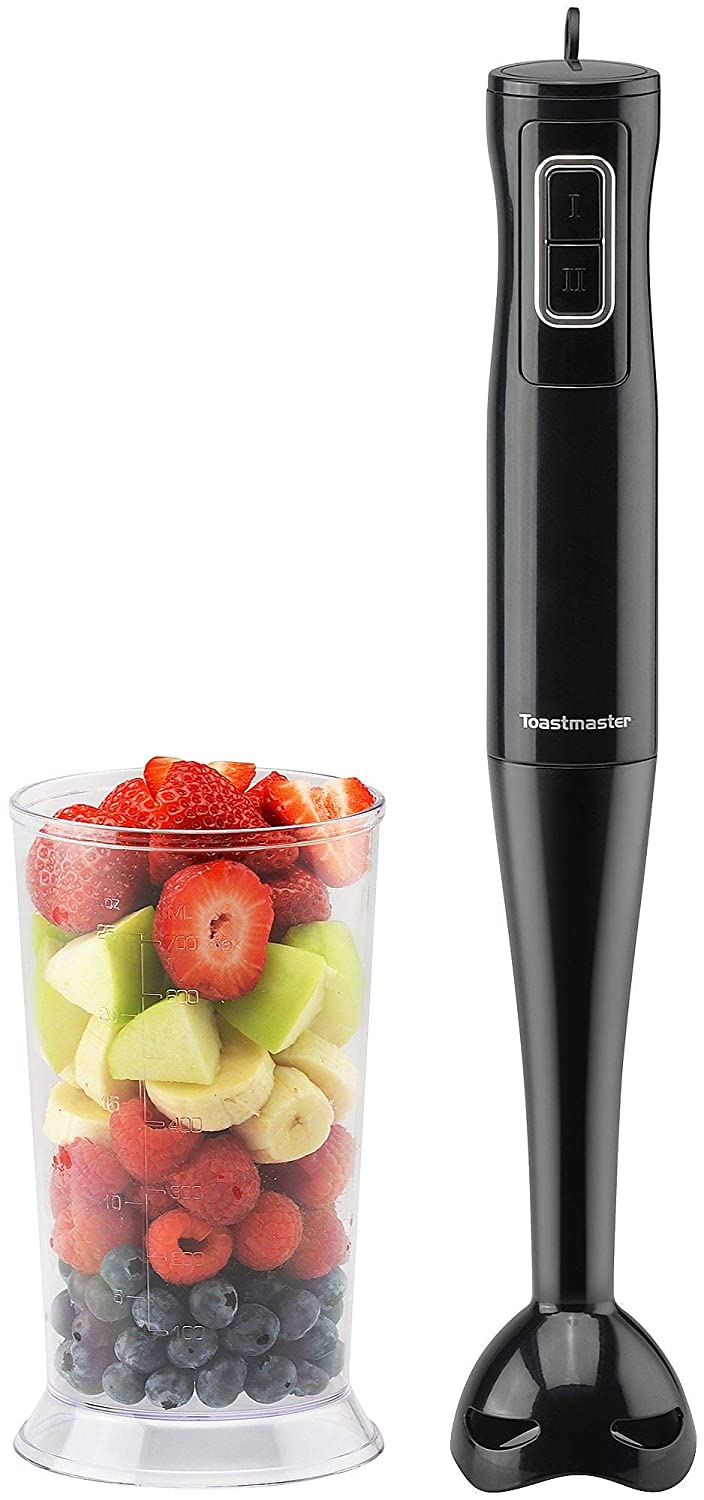 Toastmaster Immersion Hand Blender Mixer Black