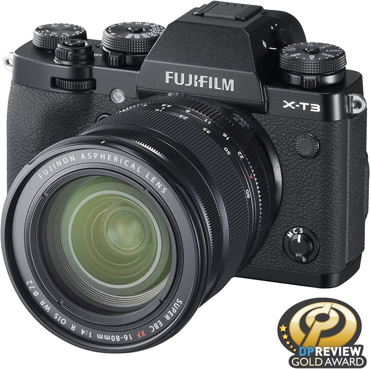 Fujifilm X-T3 Mirrorless Digital Camera w/XF16-80mm Lens Kit - Black
