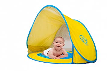 Pop Up Baby Beach Tent with Kiddie Pool UV Protection Tent Sun Shelter Play  sc 1 st  Amazon UK & Pop Up Baby Beach Tent with Kiddie Pool UV Protection Tent Sun ...