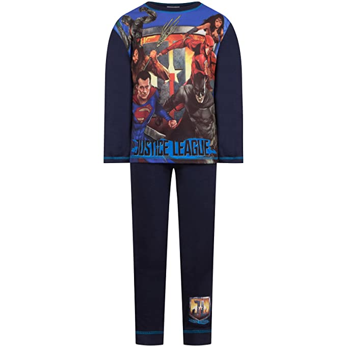 DC Comics Pantalones de Pijama para Hombre Justice League 4FzV3pWw