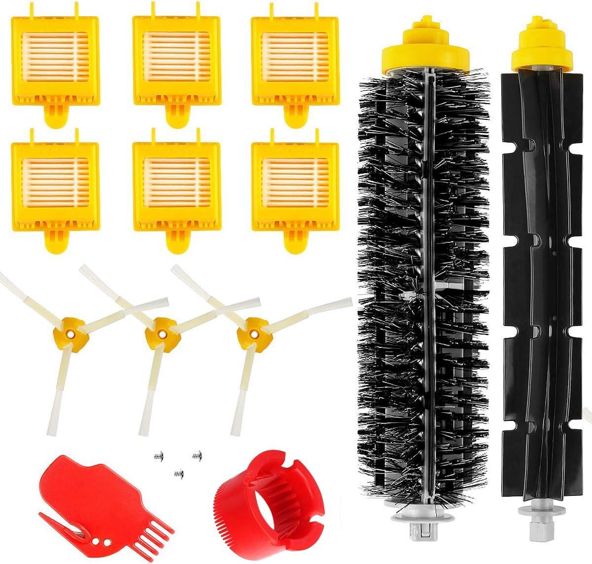 POWER-XWT Roomba Repuestos para IRobot Roomba 700 Series Reemplazar Filtro Roomba Brushes