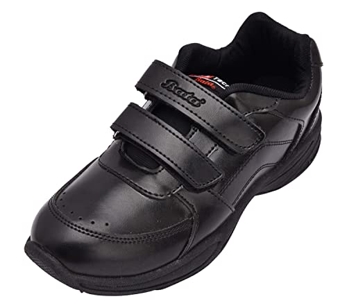 739edbf9c565 BATA Boy s Black Synthetic School Shoes - 4  Buy Online at Low Prices in  India - Amazon.in