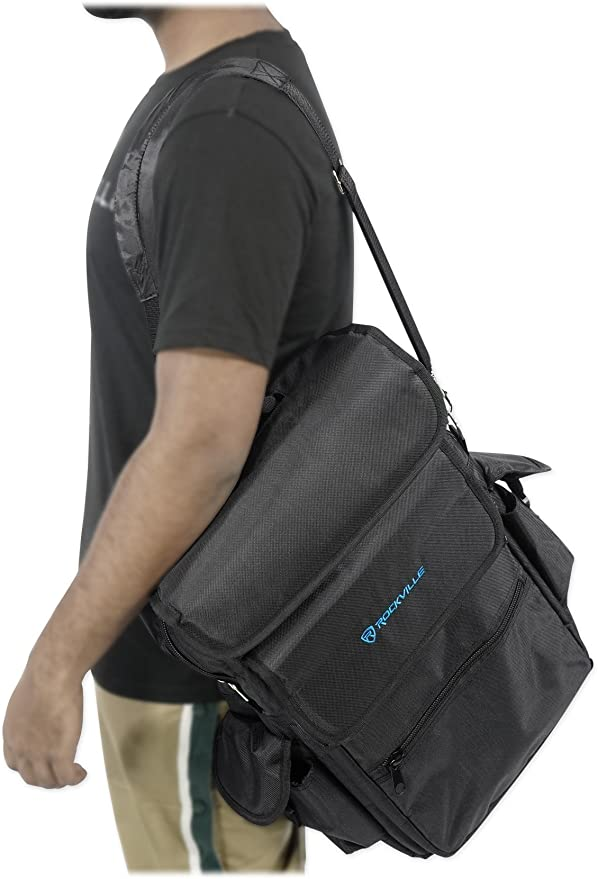Rockville Carry Bag Backpack Case For Akai MPK225 Keyboard Controller
