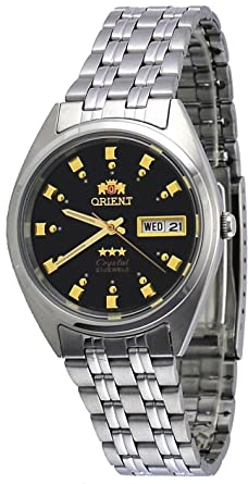 Orient Reloj Analógico para Mujer de Automático con Correa en Acero Inoxidable FAB00009C9: Amazon.es: Relojes