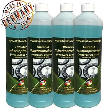 4 litros de recarga líquido Compatible con Braun Clean Renew ...