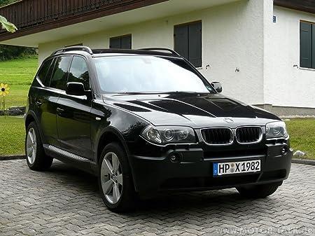 BMW X3 (19x14 inch, 47x35 cm) Silk Poster Seda Cartel PJ15 ...