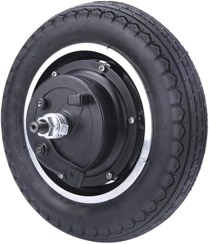 DAUERHAFT Fácil de Instalar Motor de neumático de Scooter Eje de Rueda Motor de Cubo de Scooter Motor sin escobillas, para Bicicletas eléctricas