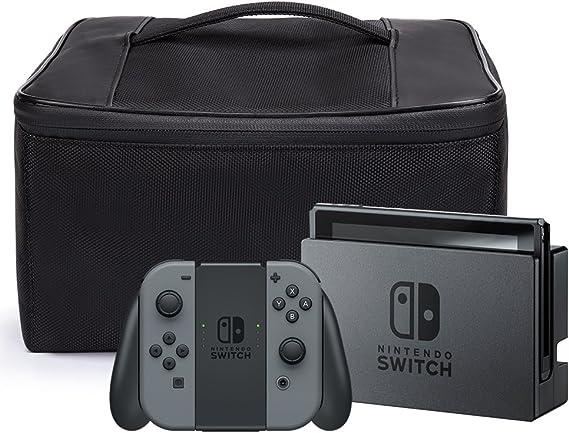 Nintendo Switch Bolsa, iDudu Storage Bag Funda de viaje para llevar la Nintendo Switch y sus accesorios: Amazon.es: Videojuegos