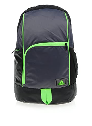 412377da4b Adidas NGA 1.0 M Backpack Sport Hiking Training Laptop Reflective Outdoor  Black Grey
