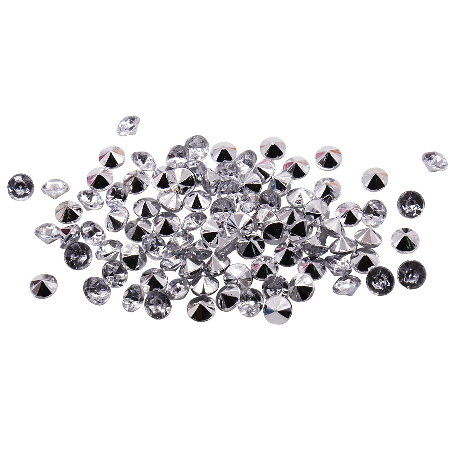Crafts DIY Project Party Decoration Photography Wedding Black BIT.FLY 4.2mm 10000pcs Acrylic Crystal Diamond for Vase Fillers Party Table Scatter