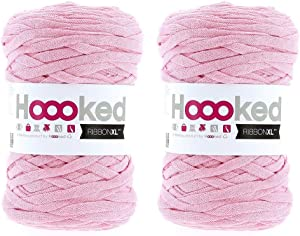Hoooked Ribbon XL Yarn (2 Pack) - Sweet Pink (RXL 40)