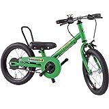 People(ピープル) ラクショーライダー 14インチ アイビーグリーン 補助輪パスして自転車イチバン乗り! YGA294