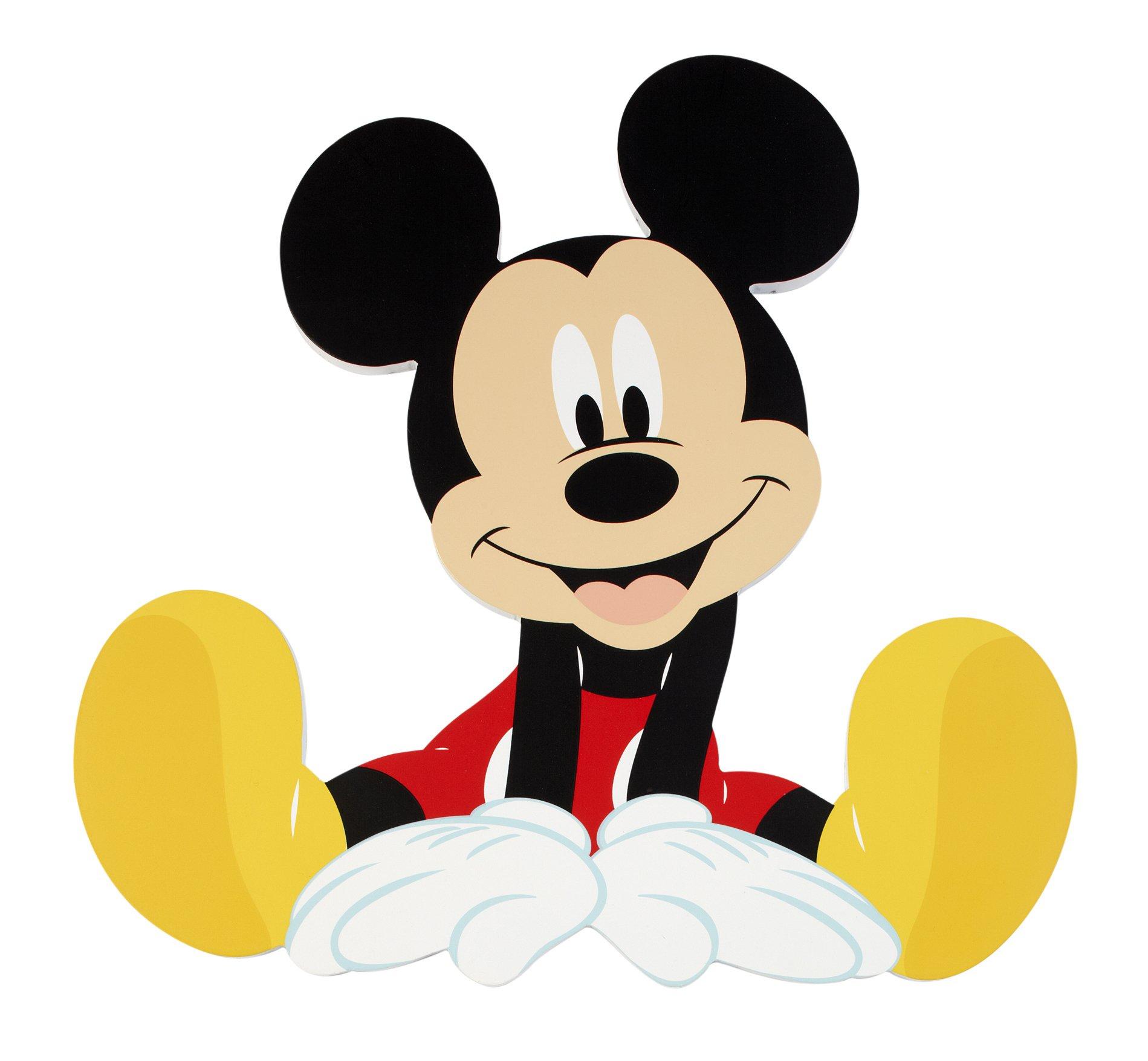 Amazon.com : Disney Mickey Wall Art, 2 Count : Baby