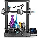 Creality Ender 3 V2 3D Printer Upgraded Version of Ender 3 Pro: 32-bit Silent Motherboard, Carborundum Glass Bed, Resume…