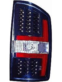 Depo 334-1909PXNS2C Dodge Ram Pickup Black LED Tail Light