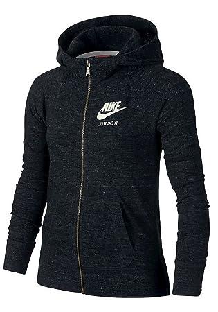 Nike Gym Vintage FZ Hoodie YTH Sudadera, Niñas: Amazon.es: Deportes y aire libre