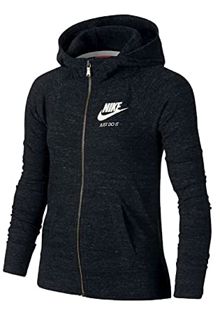 Nike Gym Vintage FZ Hoodie YTH Sudadera, Niñas: Amazon.es ...