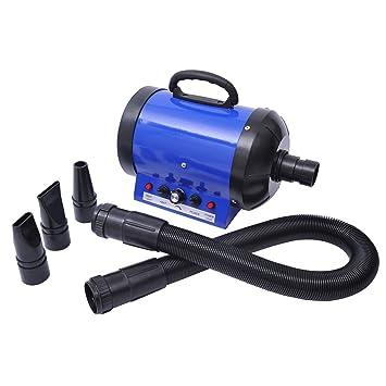 Outsunny - Soplador secador para perros/gatos 2400 W - Temperatura y velocidad ajustables: Amazon.es: Bricolaje y herramientas