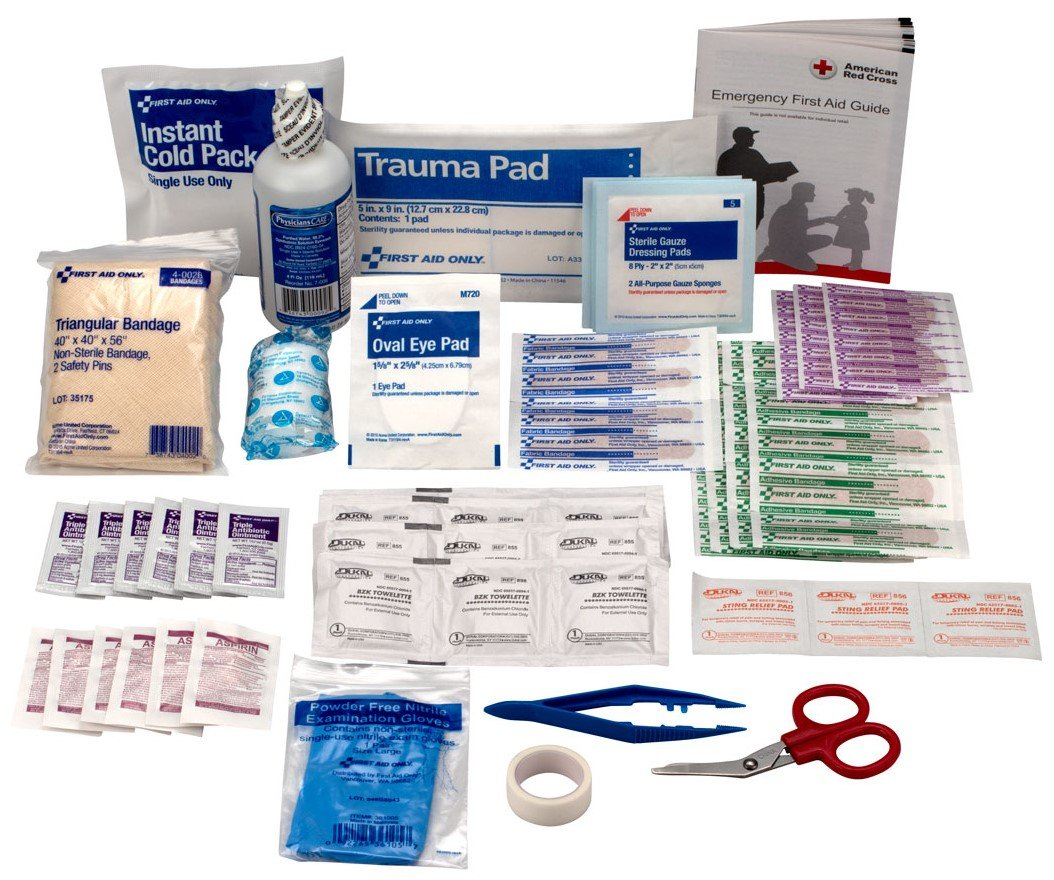 First Aid Kit 106-Piece Refill...
