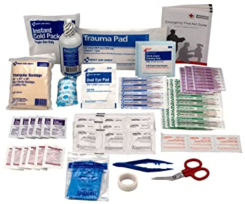 Pac-Kit by First Aid Only Refill For Bulk 25 Person First Aid Kit, 106-Piece Boxes