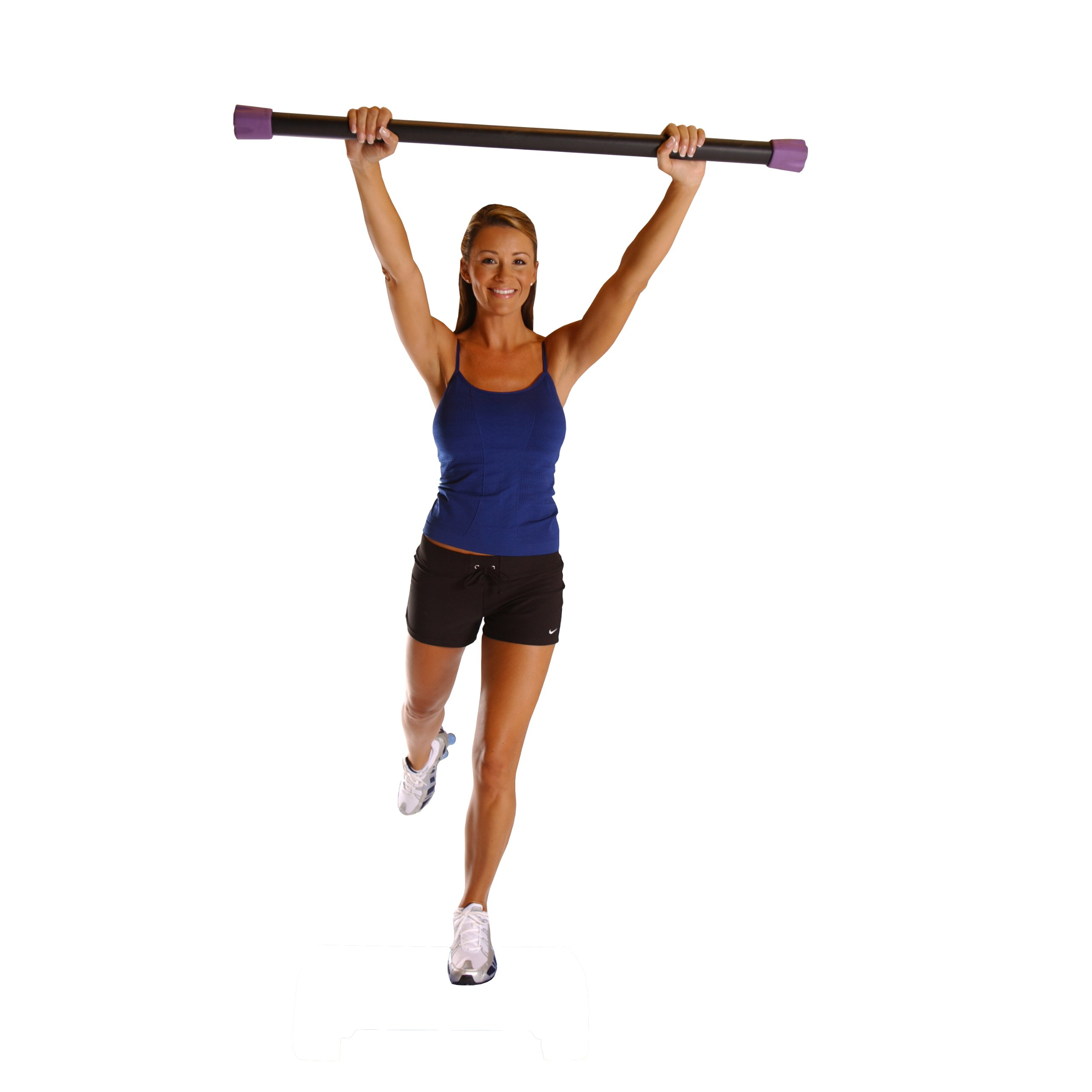 Cap Barbell Workout Bar Weighted Workout Bar Exercise