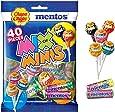 Chupa Chups Mix of Minis Bag, 40 Lollipops & Mini Rolls