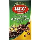 UCC キリマンジァロブレンド コーヒー豆 (粉) 真空パック 200g