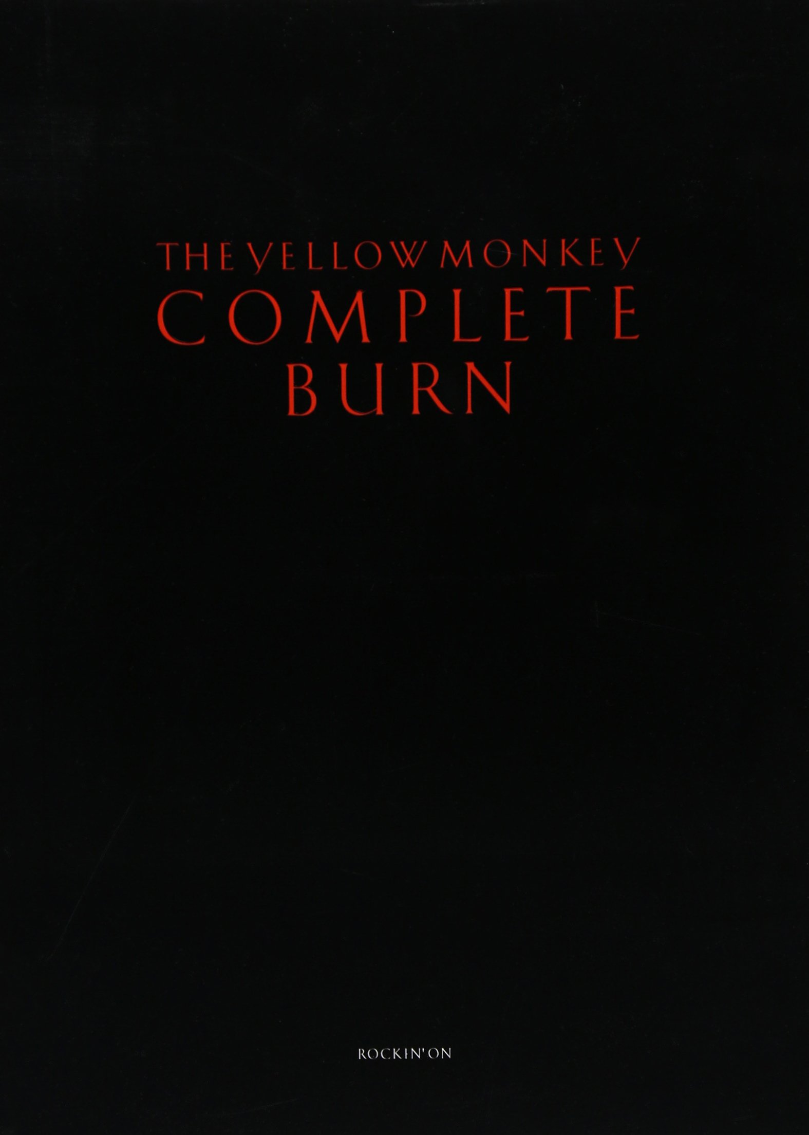 Read Online Yellow Monkey complete burn. PDF