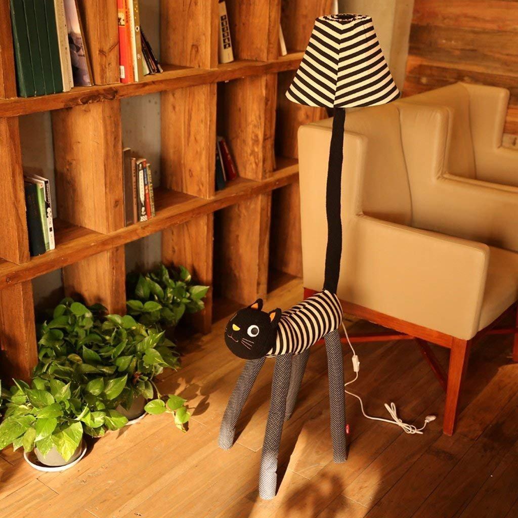 YNG Stehleuchte Kreative Cartoon Stehleuchte Meng Cat Stehleuchte Schlafzimmer Kinder 'S Tischlampe Wohnzimmer Stehlampe, Lampe